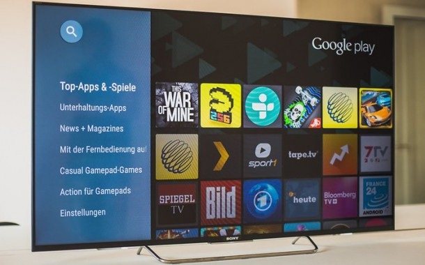 Sony android tv 23 w782 610x380 - Sony Bravia Android TV Russisches Fernsehen App
