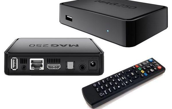 Mag 250 IPTV Set Top Box ohne Abo