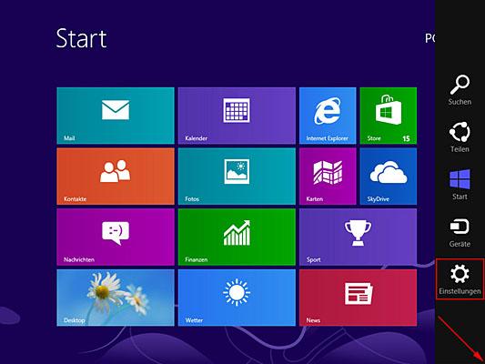5 einstellungen aufrufen - Windows Tastatur auf Russisch umstellen